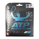 テクニファイバー(Technifibre) 硬式テニスストリング エイチディーエックス124 TFG707NA (Men's、Lady's、Jr)