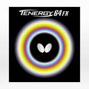 バタフライ(Butterfly) 卓球ラバー テナジー 64FX 黒 05920 (Men's、Lady's、Jr)