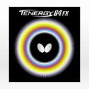 バタフライ(Butterfly) 卓球ラバー テナジー 64FX 赤 05920 (Men's、Lady's、Jr)