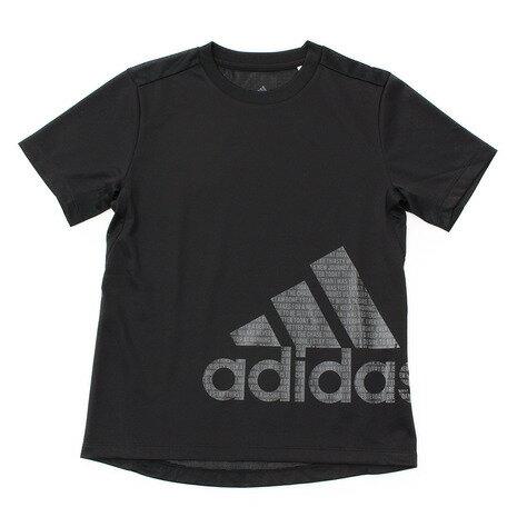 アディダス(adidas) ジュニア TRN CLIMACOOL バッジオブスポーツ Tシャツ ETP17-CX3900 (Jr)