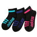 アディダス(adidas) ショートソックス 3足組 123-16L8002 (Jr)