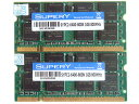 ▲BUFFALO-D2/N800規格▲新品 DDR2-800 PC2-6400 1GB2枚合2GB