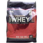 【正規品】[ 超大容量4.5kg ] 100%ホエイ ゴールドスタンダード プロテイン ※デリシャスストロベリー 4.54kg