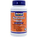 ヒアルロン酸 100mg(プロリン/アルファリポ酸/ブドウ種子エキス含有)60粒[サプリメント/美容サプリ/サプリ/ヒアルロン酸/now/ナウ/栄養補助/栄養補助食品/アメリカ/カプセル/サプリンクス]
