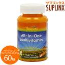オールインワン マルチビタミン&ミネラル(鉄抜きタイプ) 60粒 [サプリメント/健康サプリ/サプリ...