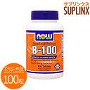 ビタミンB100 コンプレックス(タイムリリース型) 100粒[サプリメント/健康サプリ/サプリ/ビ