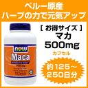 [ お得サイズ ] マカ 500mg 250粒 1粒に500mgの高含有!たっぷり約4か月分♪ サプリメント