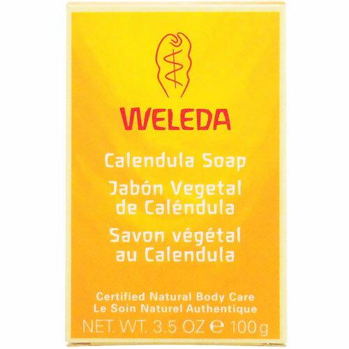 ヴェレダカレンデュラベビーソープ100g[ベビー用品/おふろ/ベビーシャンプー/ソープ/固形/石鹸/