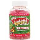 お子様用 ヤミーベアーズ 植物性オメガ3グミ(勉強サポート脂肪酸ミックス) 90粒[サプリメント/健康サプリ/サプリ/DHA/EPA/栄養補助/栄養補助食品/アメリカ/グミ/サプリンクス]