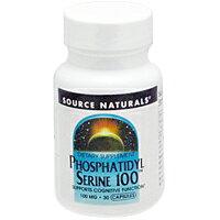 ホスファチジルセリン100mg[ダイエット・健康/サプリメント/健康サプリ/レシチン配合/Sourc