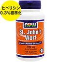 セントジョーンズワート 300mg (ヒペリシン0.3%標準化)100粒[サプリメント/健康サプリ/サプリ/植物/ハーブ/セントジョーンズワート/now/ナウ/栄養補助/栄養補助食品/アメリカ/サプリンクス]