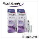 【送料無料】ラピッドラッシュ/RapidLash(海外版/3.0ml)×2個セット まつげ美容液【普通便発送】smtb-KD