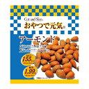 ショッピングミックスナッツ 株式会社美多加堂C&S おやつで元気 アーモンド(24g)×10個セット<カリフォルニア産アーモンド使用>