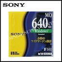 ★ 期間限定 ★ 3000以上のお買上げで送料無料 12 / 8 9:59までSONY EDM-640CDF MOディスク 640MB WIN 1枚