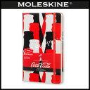 【メール便可能】MOLESKINE(モレスキン) 限定版 コカ・コーラ ノートブック プレーン(無地) Large LECOQP062(891270)★期間限定...