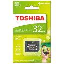TOSHIBA microSDHCカード 32GB MSDA...