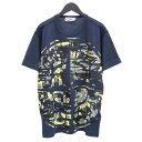 ストーンアイランド STONE ISLAND Tシャツ 半袖 MIXED YARN JACQUARD CAMO 迷彩 カモフラージュ 721523387-V0028