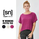 Sports, Outdoors - SN / スーパーナチュラル / レデイース / W Womens Peyto Tee / エアリーカットソー /【SNW006610new】/ (エスエヌ・スーパーナチュラル)[sn] super.natural レディース ヨガ ベーシック シンプル カットソー