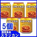 ショッピング野菜ジュース PALDO ビラク スジョンガ 238mlx5本  /シナモンジュ−ス