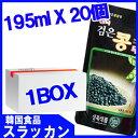 【黒豆豆乳195ml(パウチ*韓国版) 1BOX 20個】韓国
