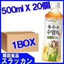 ショッピングとうもろこし 【ロッテとうもろこしのひげ茶500ml 1BOX 20個】