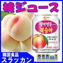 ショッピング野菜ジュース 【ヘテ】すりおろし【桃】ジュース 238ml缶