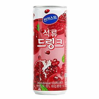 ザクロジュ−ス(缶)韓国食品/韓国食材/韓国ジュース/韓国飲み物/ダイエット/韓流/sk2/韓国料理