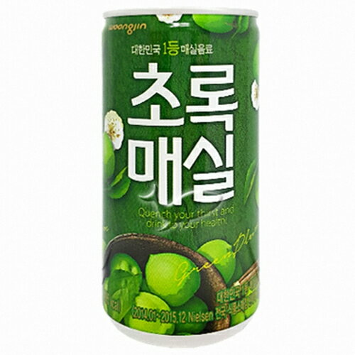 ウンジン梅ジュース(缶)180ml
