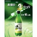 ★麹醇堂(クッスンダン) 生マッコリ750ml ★