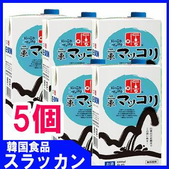 イドン【二東】マッコリ−紙パック1L 5個★