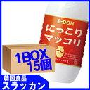 イドン【二東】【マッコリ−1L(PET)(15個)1BOX】韓国伝統酒