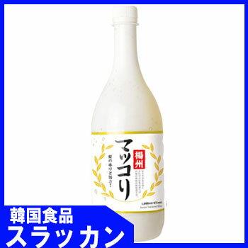 【楊州】【マッコリ-(梨味)1L】韓国フュージョン酒の商品画像