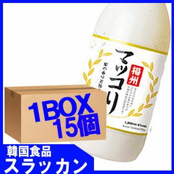 【楊州】マッコリ-梨味1L15個 1BOX★韓国...の商品画像