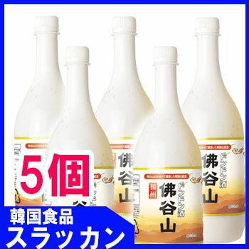 【楊州】【マッコリ-ドンドン酒1L(5個)】★韓...の商品画像