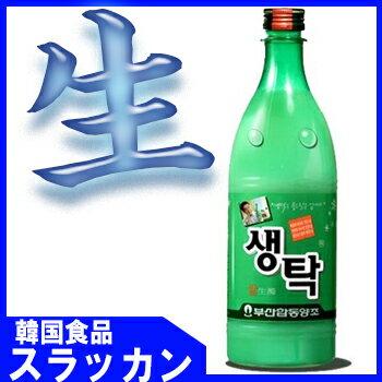 ※冷蔵商品 【釜山センタック生マッコリ 750m...の商品画像