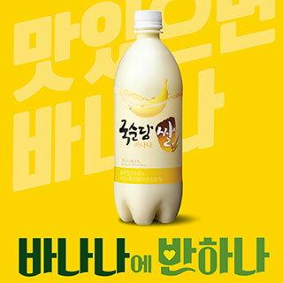 【麹醇堂】バナナ マッコリ750ml x 1本の商品画像