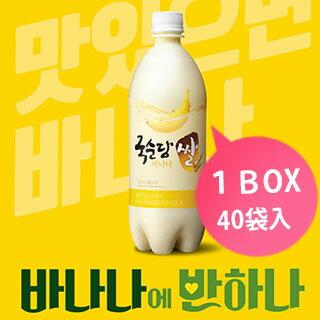 【麹醇堂】バナナ マッコリ750ml x 20本 1BOX