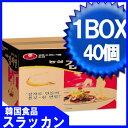 ★ジャガイモ麺1BOX (117gX40個)/韓国ラーメン/韓国大人気麺/韓国食品/ラーメン/辛いラーメン/地震/防災/卵/美味しい
