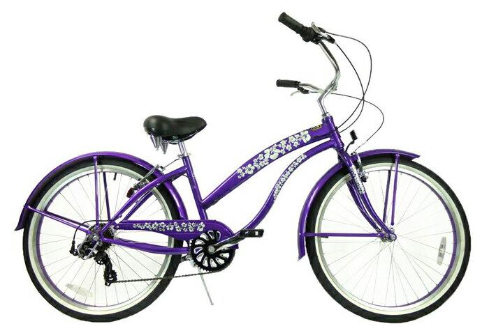 ★SALE★グリーンライン ビーチクルーザー Greenline(USA)706PL Baby Blue 26インチ 7Speed 自転車 【送料無料】簡単にエコ運動に参加できる乗り物!ここだけで買える限定ブランドです!