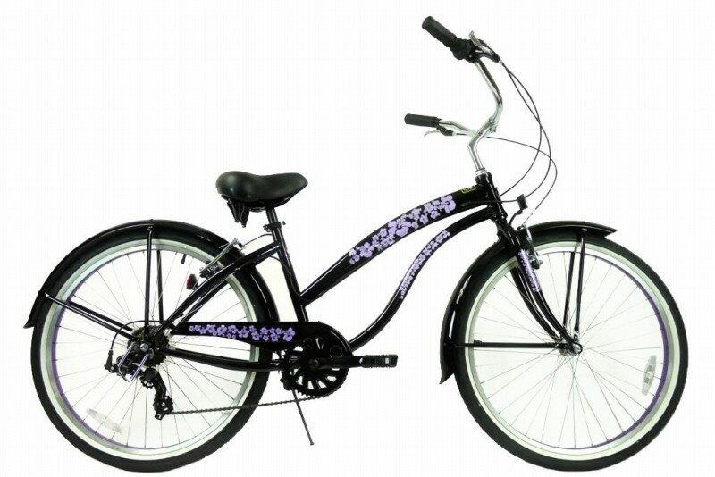 ★SALE★グリーンライン ビーチクルーザー Greenline(USA)706PL  26インチ 7Speed Black 自転車 【送料無料】簡単にエコ運動に参加できる乗り物!ここだけで買える限定ブランドです!騒がしい
