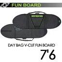 DESTINATION,ディスティネーション,サーフィン,サーフボードケース●DAY BAG V-CUT FUN BOARD 7'6