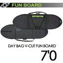 DESTINATION,ディスティネーション,サーフィン,サーフボードケース●DAY BAG V-CUT FUN BOARD 7'0