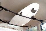 安装超简易型 车用顶棚固定条[サーフィン,キャリア,ラック,カー用品●RACK BELT ラックベルト]