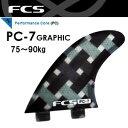 【送料無料】FCS,エフシーエス,フィン●PC-7 GRAPHIC