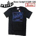〔あす楽対応〕Volcom,ボルコム,Tシャツ●Rooc Script V12SP-125