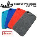 〔あす楽対応〕Volcom,ボルコム,アクセサリー,iPhoneケース,sale●Spiral OP4PhoneCase V12SP-502