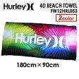 ショッピングハーレー Hurley,ハーレー,ビーチタオル●4D BEACH TOWEL FW12HRL053