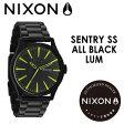 NIXON,ニクソン,腕時計,正規取扱店●SENTRY-SS-ALL-BLACK/LUM