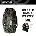 〔あす楽対応〕【送料無料】FCS,エフシーエス,バック,バッグ,リュック●Trekker BLACK トレッカー