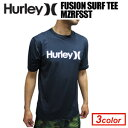 〔あす楽対応〕Hurley,ハーレー,サーフィン,ウェットスーツ,ラッシュガード,紫外線対策,14ss,sale●FUSION SURF TEE MZRFSST